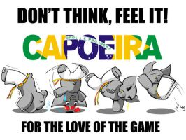 elephant can capoeira too by Raltair
