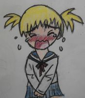 Crying chibi character [colored] by Chaz1029