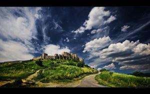 Spis Castle by worttex