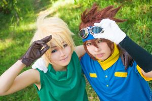 Digimon Adventure : Best Friends ! by InugamiDesu