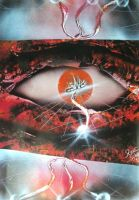 Eye Of Anu Photopaper by RiensArtwork