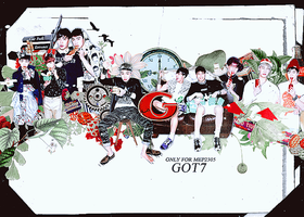 GOT7 by bluebbeee