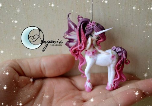 Unicorn fairy Rose by AngeniaC