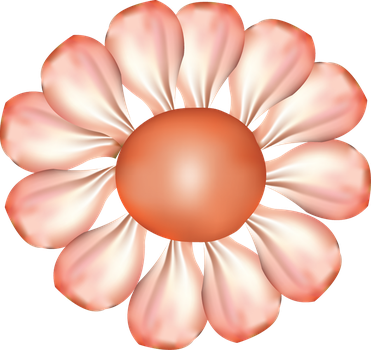 Gradient Mesh Flower by Teldra