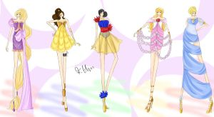 Disney Fashion I by wondagirl