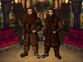 Beer Drinking Dwarfs by Kailie2122