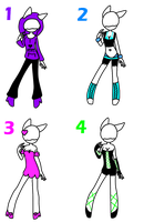 .: Outfit Adopts Batch 5 - CLOSED :. by twi--adoptables