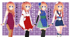 Ikehara High:: Hostess Clothes by Live-forget