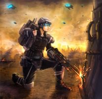 combat engineer by TheArtofSaul