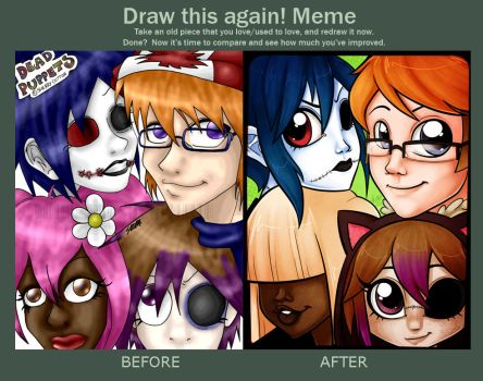 Draw This Again Meme by zombielily