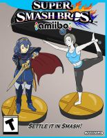 Amiibo Fighter Cover by Diggerman