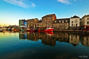 Vibrant Harbourside by mattbarber