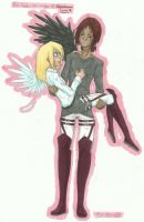 God and her dark Angel - Ymir x Christa by MidoriNoHonoo