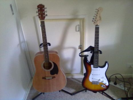 My guitars. by ironcorps