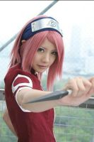 SAKURA cosplay by Lucy82