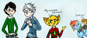 Christmas Crossover by SierraMelody