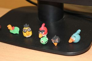 Angry Birds :D by doredore