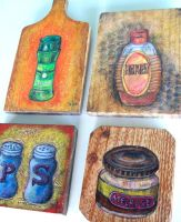 Broodbord drawings by hippiedesigner