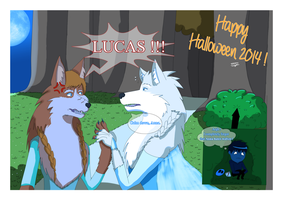 Happy Halloween 2014 - Anna - LUCAAAAS !! by JackFrostOverland