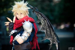 Cloud - Kingdom Hearts - 3 by alucardleashed