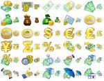 Large Money Icons by mikeconnor7