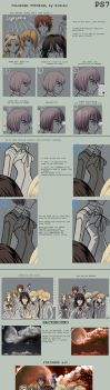 Coloring tutorial photoshop by himiko