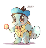 Squirtle Junior by LizardonEievui13