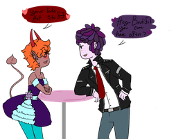 juno and marks lovely dates by Ask-Madeline-the-lam