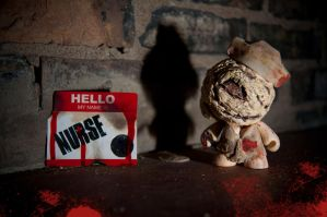 Silent Hill Munny: Nurse by Meagan-Marie