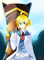 Kagamine Len //In game Elsword Style~ by YandereLen