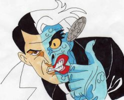 Batman: tas - Two Face by Mr-Hoppy88