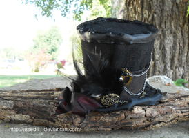 Steampunk Mini Top Hat - 2 by atsed11
