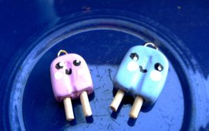 Popsicle charms by eatyourbrians