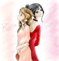 Roxie and Mikio by Angeli-The-Icefairy