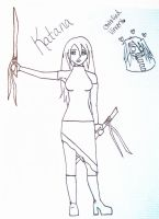 Katana FF7 OC by irish-eyes2
