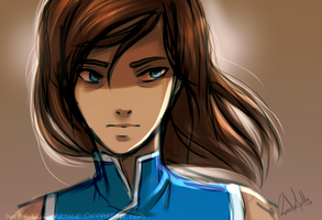 Korra: the Balance by nor-renee