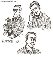 a study in the faces of greg lestrade by focusfixated