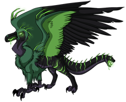Egg #6 - The Venomous One by Kingfisher-Gryphon