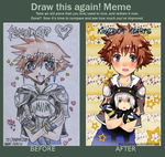 Before and After MEME Kingdom Hearts by Starmallow