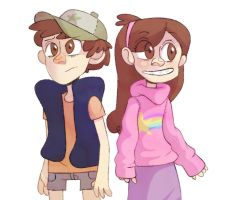 gravity falls by nowand4ever
