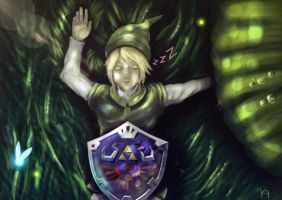 Link after adventure by kAALda