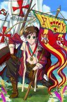 Antonio Hetalia Spain by CarmenMCS