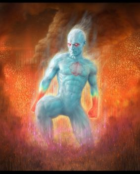 Captain Atom by Fatmarco
