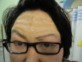 Klingon forehead test by TheSpazOutLoud