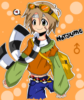 Pokemon Master entry Natsume by Minako1125