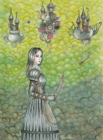 Alice Madness Wasteland by Alexsiel