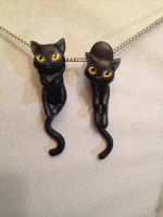 Dangle Earrings - Type 1 and 2 by Gatobob