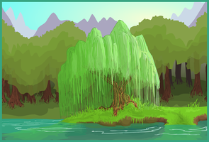 Weeping Willow-Revised by AngryPotato