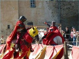 Knights in Chalabre, France 1 by chavi-dragon