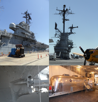 4 views of USS Hornet by amiwakawaiidesu